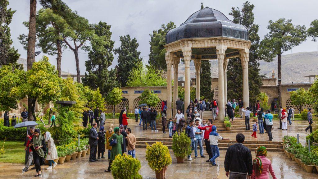 Hafiz Tomb, shiraz, Iran.