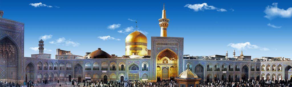 Imam Reza Shrine, Mashhad, Iran.