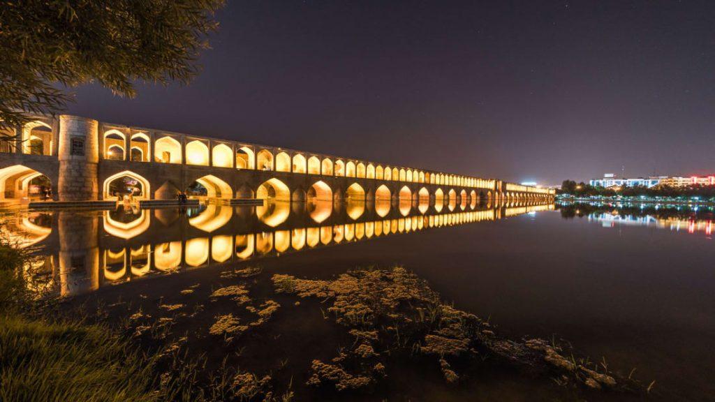 Si-O-Se-Pol, Isfahan, Iran.