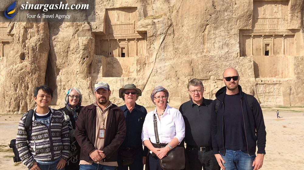 Necropolis, Fars Province, Iran.